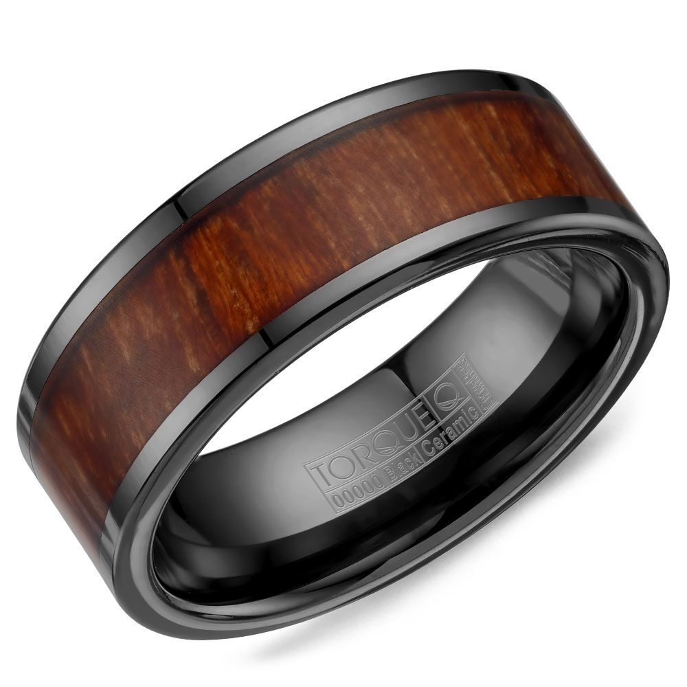 cz bands products rings diamond dsc rose black edge wedding flat with and inside gold tungsten mens lining groove