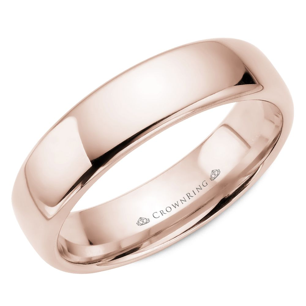 Traditional Wedding Bands - TDS14R6