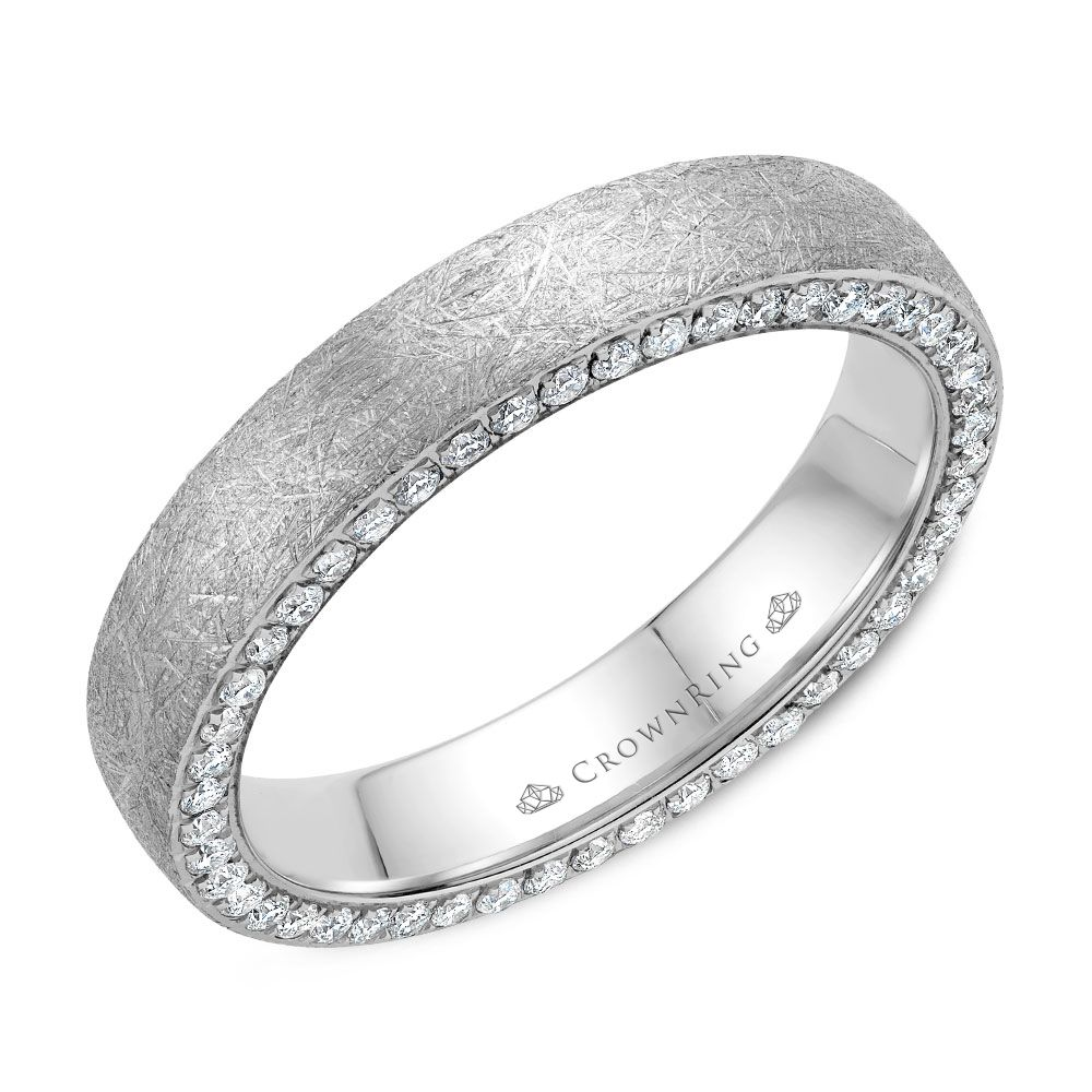 Diamond Wedding Bands - WB-022D4W-M6