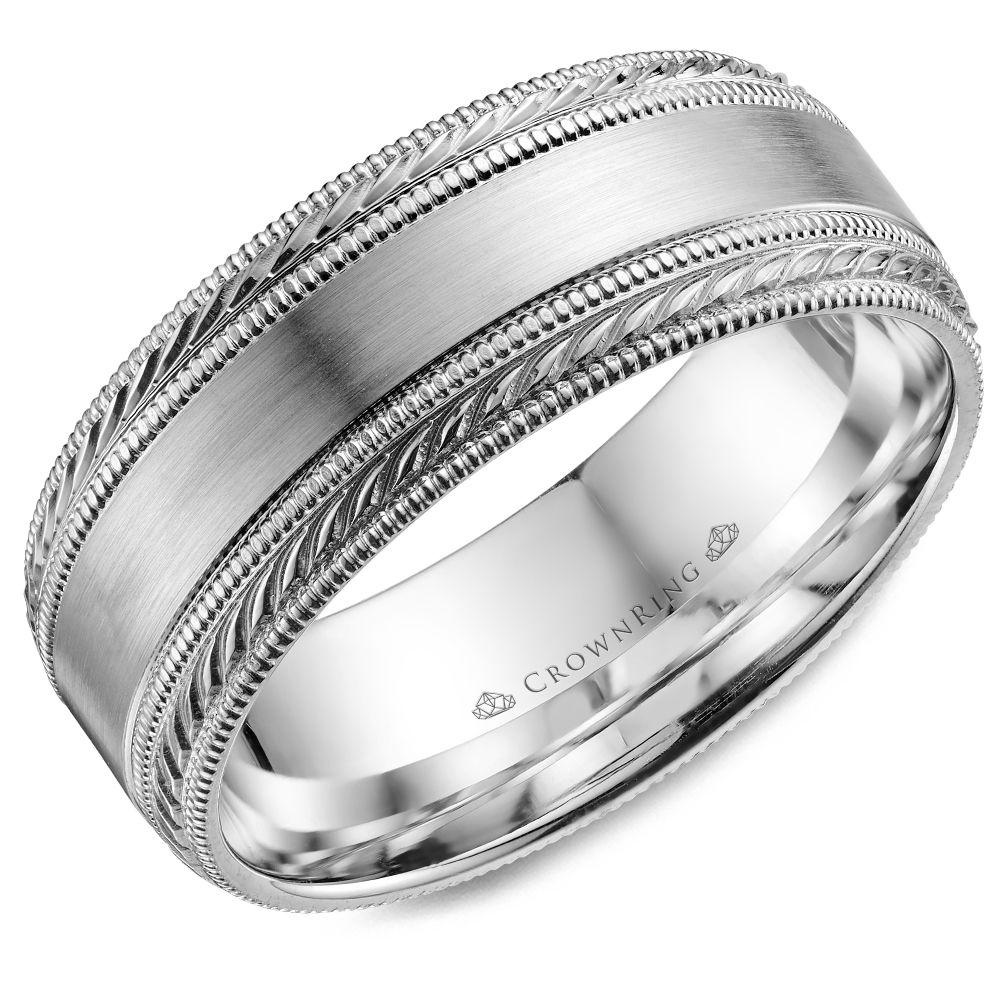 men's wedding bands, wedding bands for men | crownring