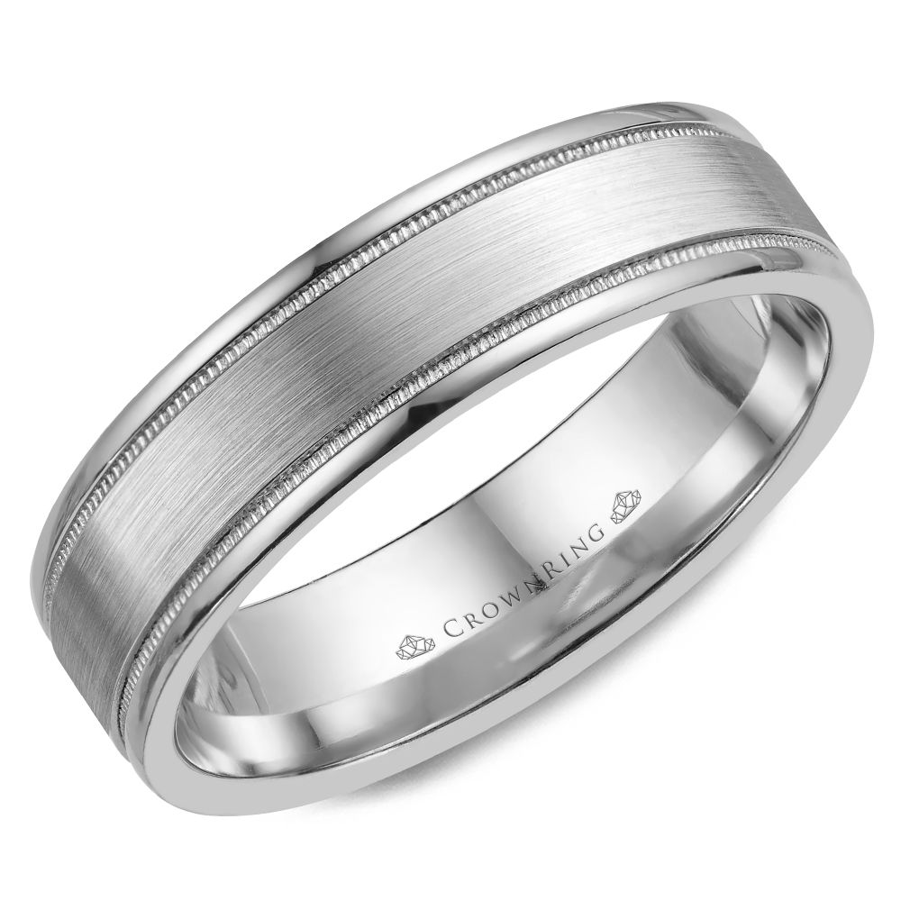 Classic Wedding Bands  - WB-6901SP-M10