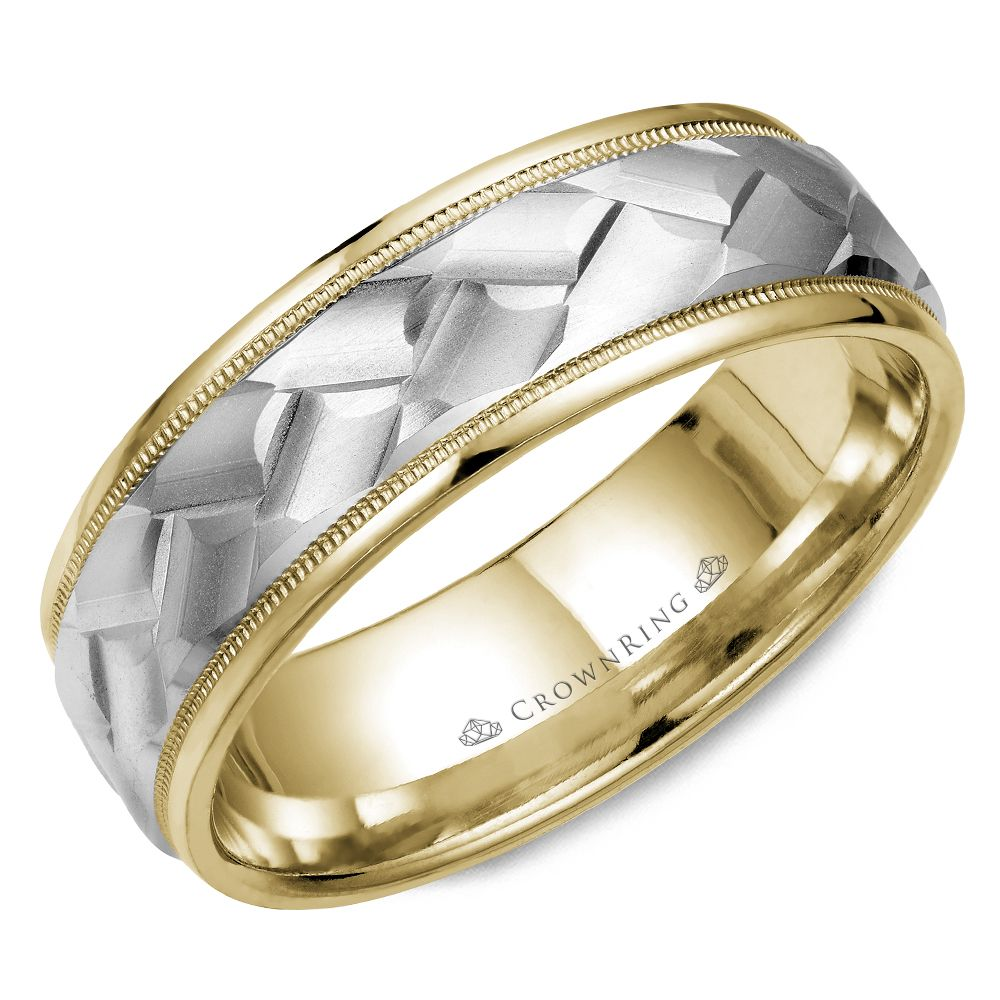 Mens Wedding Bands - WB-9583-M10